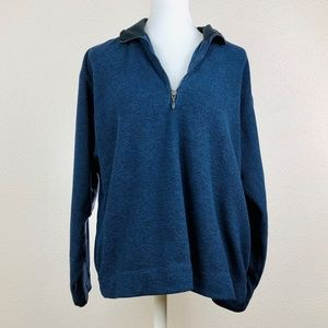 Columbia 1/4 Zip Fleece Sweater Size L